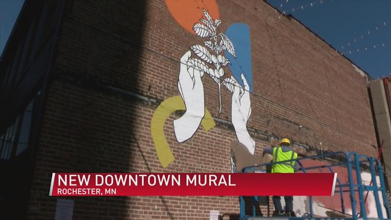 Mural brings color and collaboration downtown