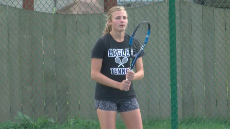 Palen Leads Eagles to State