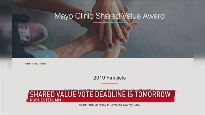 Shared Value Award grant voting coming to a close