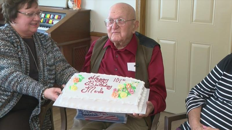 Blooming Prairie man celebrates 101st birthday
