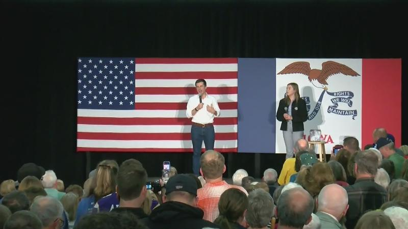 Democratic presidential candidates in IA and MN