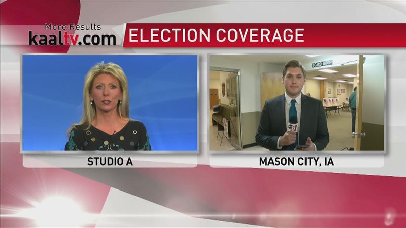 LIVE: Election coverage from Mason City, Floyd County