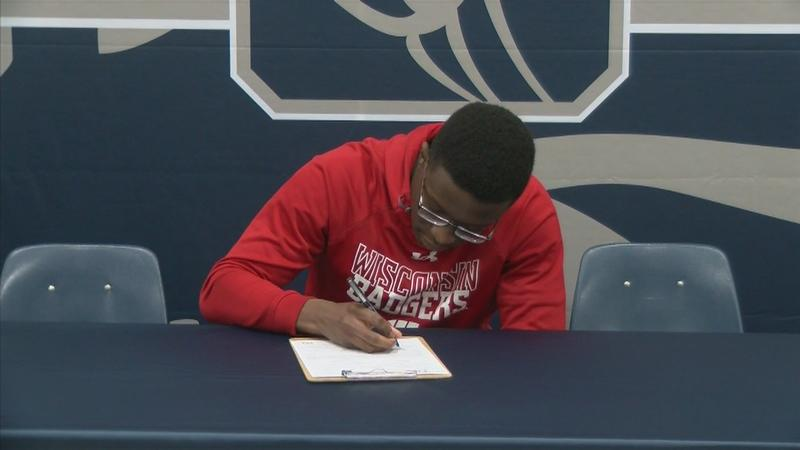 Local athletes sign national letters of intent