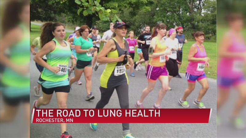 Lung health: one woman's journey over mountains and miles