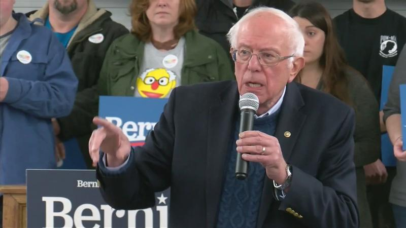 Sanders holds green jobs town hall in Charles City