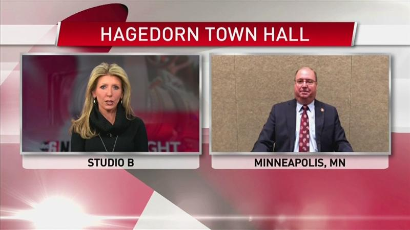 VIDEO: Representative Jim Hagedorn responds to town hall meeting controversy