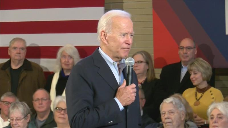 "Biden's ""No Malarkey"" tour makes stop in Mason City"