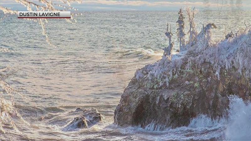 Iconic North Shore sea stack collapses during weekend winter storm