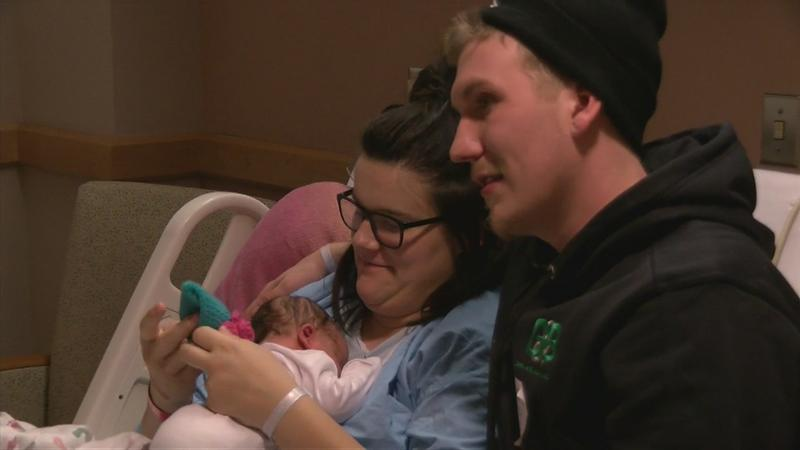 VIDEO: Rochester welcomes first baby of the New Year