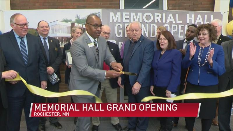 Grand opening for RCTC Memorial Hall building