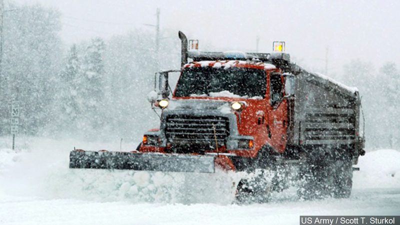Plow drivers on strike in snowy northeastern Minnesota