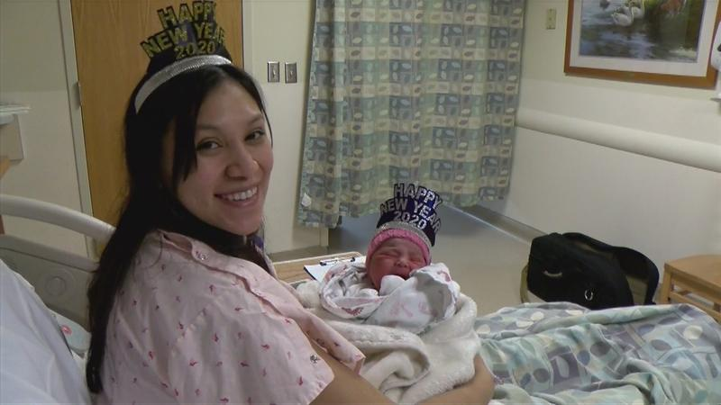 VIDEO: MCHS in Austin welcomes first baby of the New Year