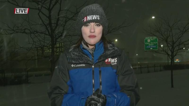 VIDEO: Winter storm conditions