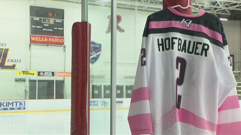 """Pink in the Rink"" hits close to home for the Grizzlies"