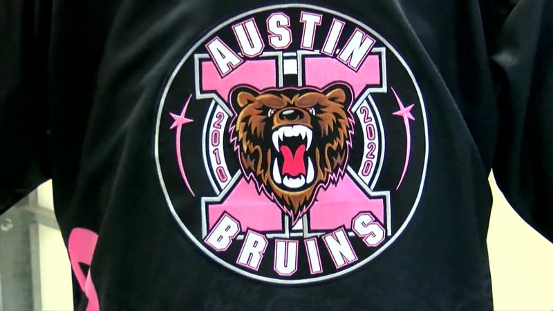 Bruins gear up for 10th annual Paint the Rink Pink
