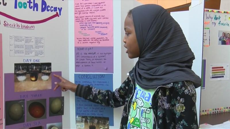 Hundreds of young scientists take part in the 31st Annual GATEway Science Fair