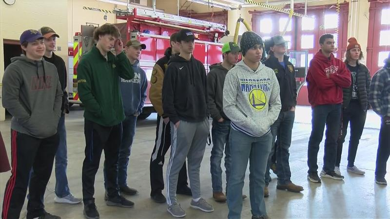 Local high school students practice Hazmat protocols with Rochester Fire Department