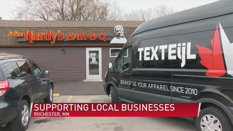 Local businesses helping others