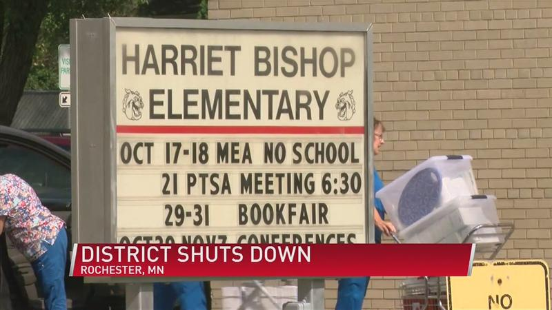 Local school districts implement MN governor's orders to shut down schools