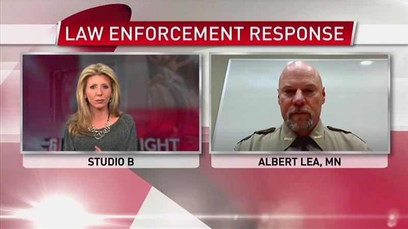 VIDEO: Law enforcement response to Stay-At-Home Order
