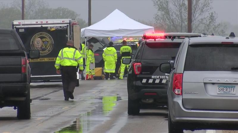 UPDATE: Authorities identify two men who died in Saturday morning crash in Olmsted County