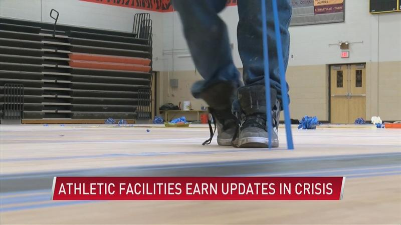 Capitalizing on the crisis: Schools update sports facilities