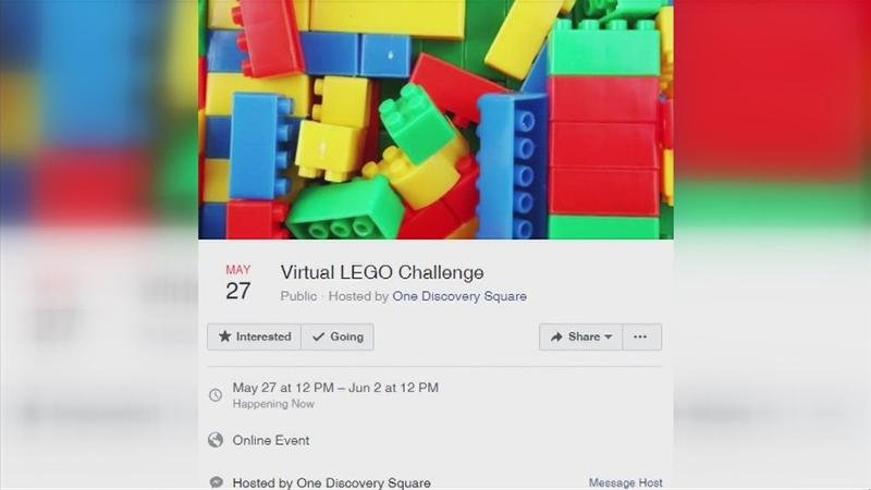 One Discovery Square's Virtual LEGO Challenge