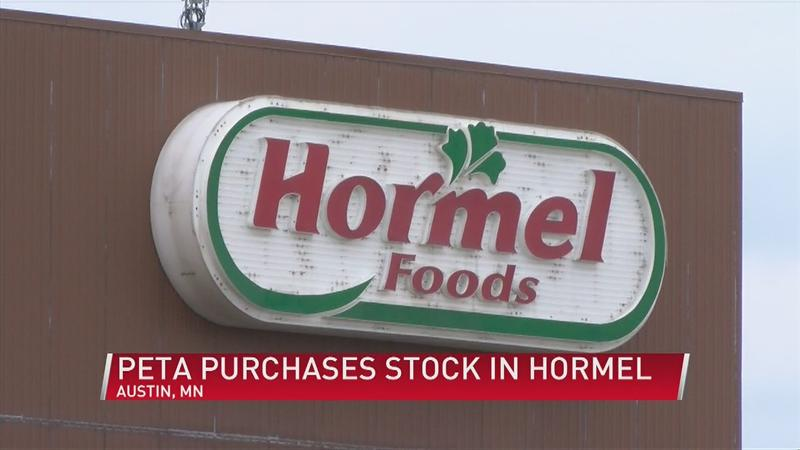 PETA purchases stock in Hormel to pressure the company to produce only vegan meats