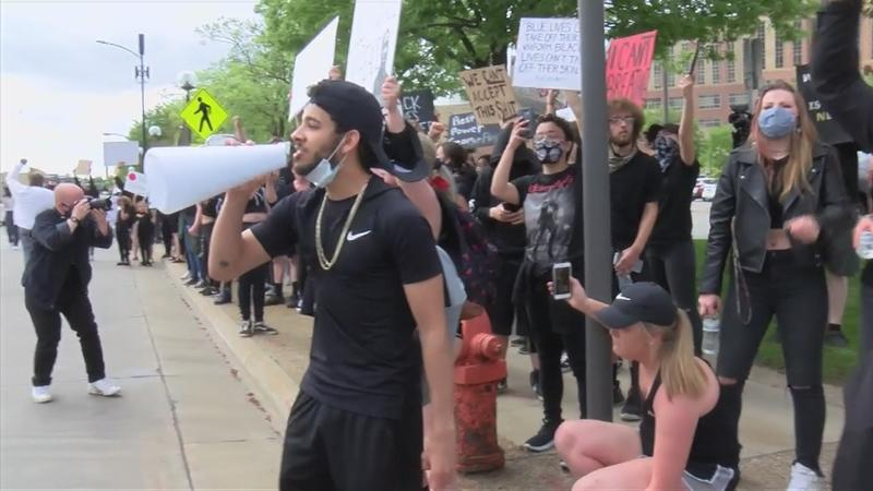 Rochester protest for George Floyd