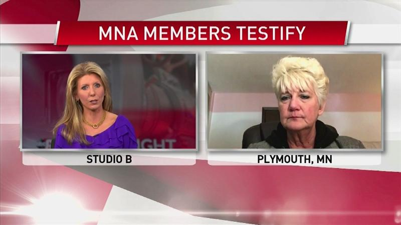 VIDEO: The MN Nurses Association has a message for lawmakers