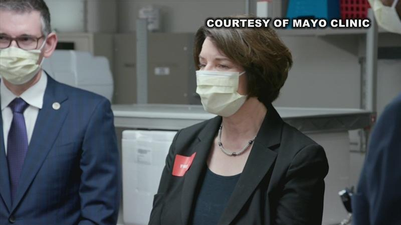 Klobuchar says she's impressed with Mayo Clinic's efforts in the fight against COVID-19