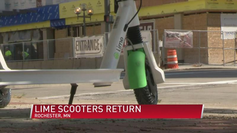 UPDATE: Lime scooters will launch in Rochester June 10