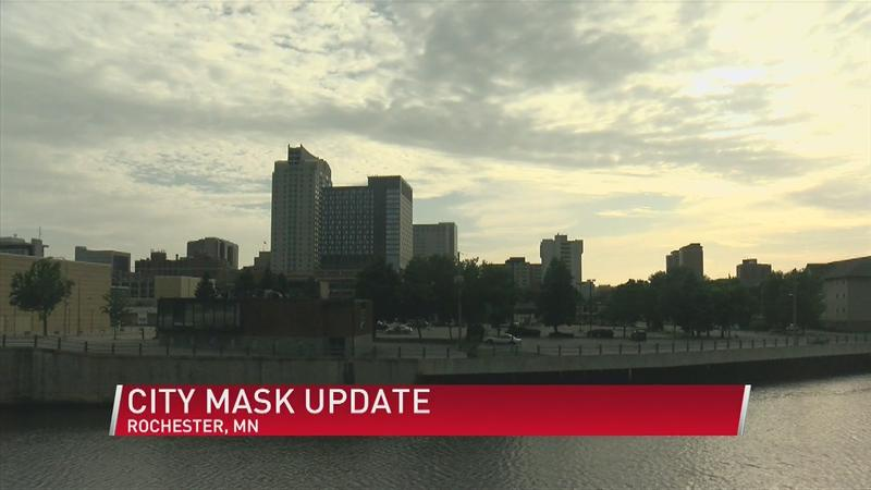 Masking requirements in Rochester