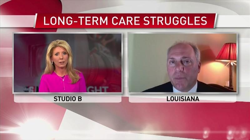VIDEO: LTC struggles: Federal lawmaker, Rep. Steve Scalise reacts