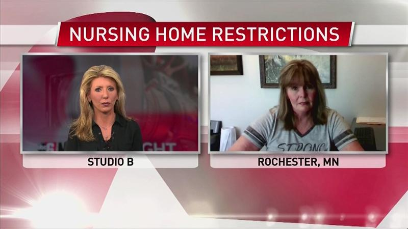 """VIDEO: Rochester woman says her father has been made a """"prisoner"""" inside his nursing home"""