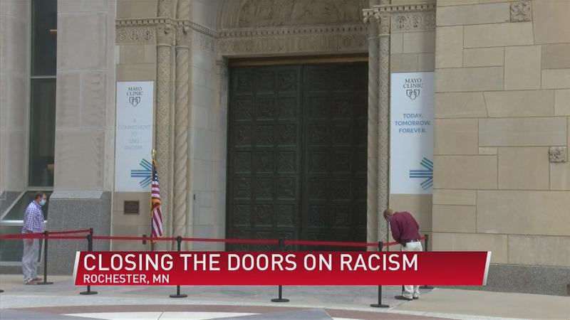 Mayo Clinic Plummer Building closing doors on racism