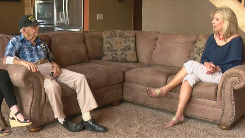 VIDEO: 100-year-old WWII Veteran shares his thoughts on freedom in America