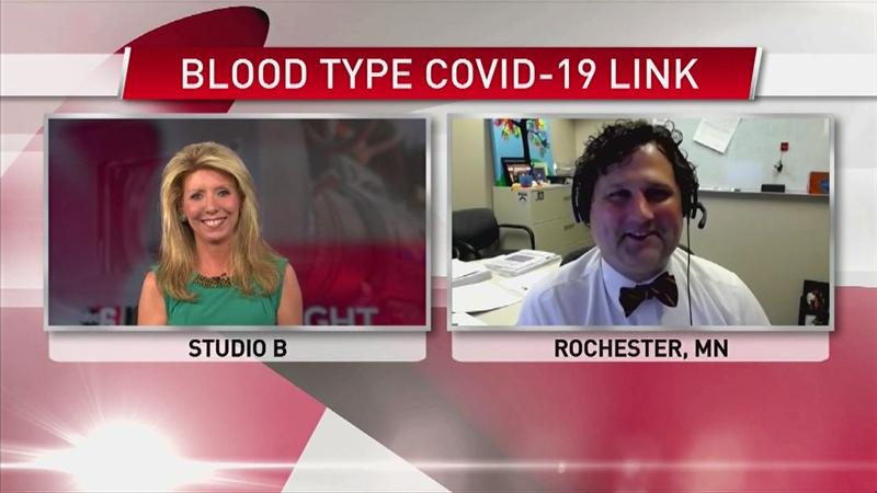 VIDEO: Blood type and COVID-19 link