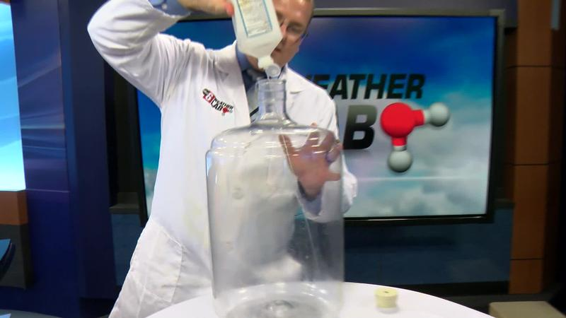 Weather Lab at Home: Cloud in a Bottle