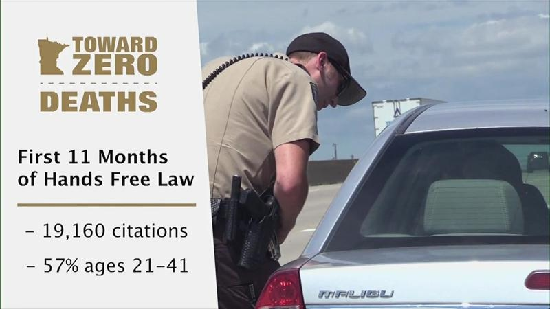 19,160 drivers cited for violating MN's Hands Free Law