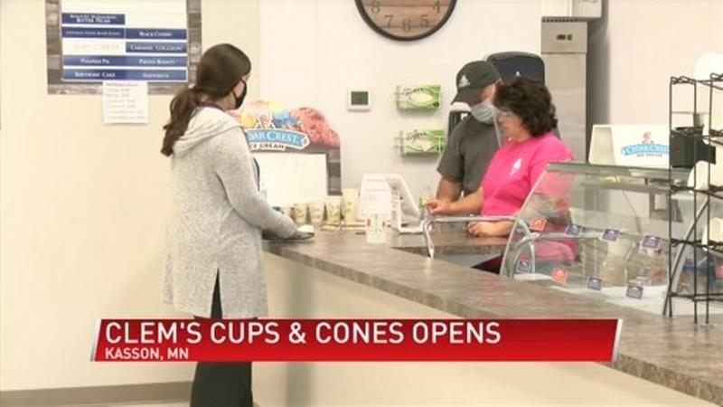 Clem's Cups and Cones serving up in Kasson