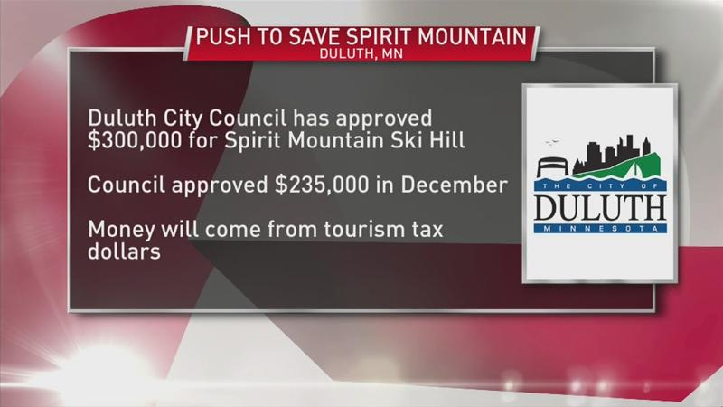 Duluth City Council approves 2nd bailout for Spirit Mountain