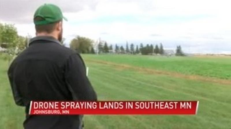 Johnsburg man offers drone sanitizing services