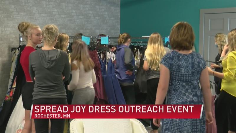 Local church holds dress giveaway for teens and adults