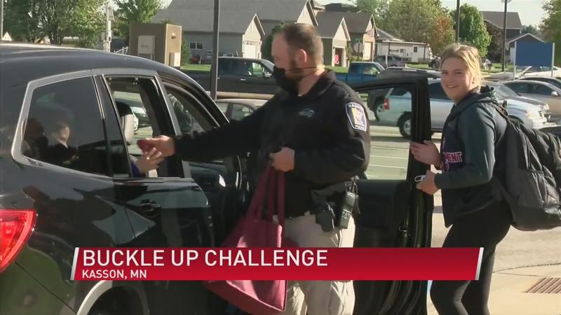 Local law enforcement challenge seatbelt safety