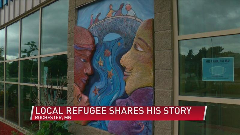 Local refugee shares his story amid start of Welcoming Week