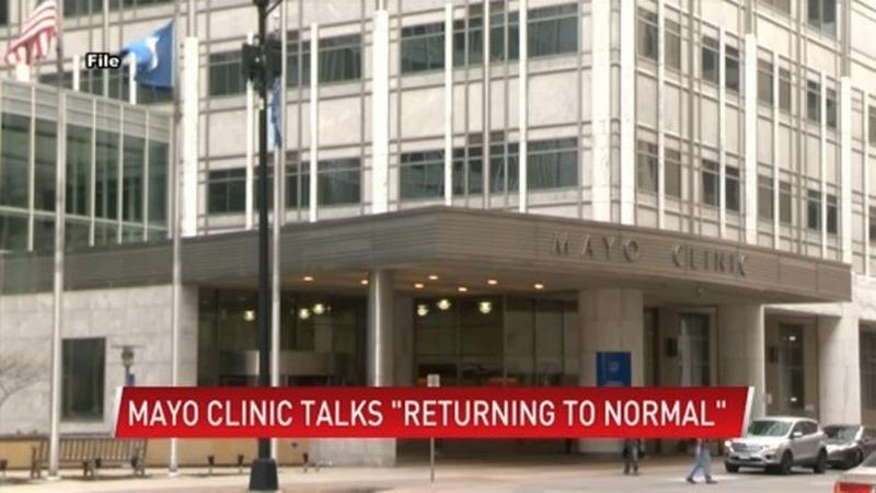 Mayo Clinic looks to a post-pandemic world