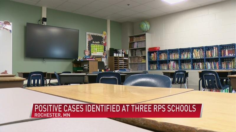 Positive COVID-19 cases identified at 3 RPS schools