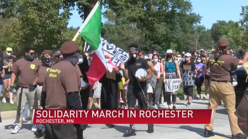Solidarity March in Rochester
