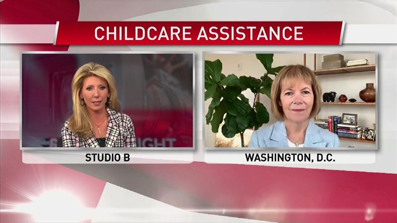 VIDEO: Sen. Tina Smith goes in-depth on childcare assistance